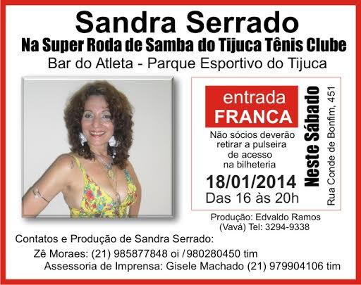 flyeur Roda de Samba